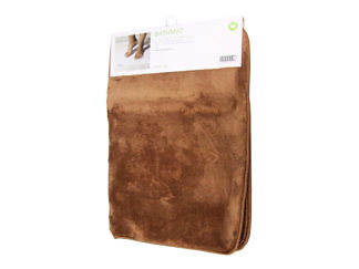 Коврик для ванной комнаты 80х50 коричневый
