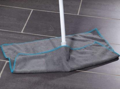 Салфетка для мытья полов супер-универсал 50×60 серая