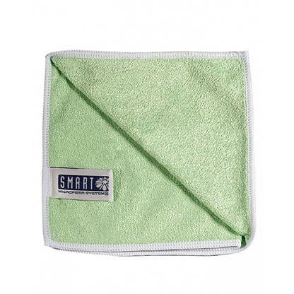 Салфетка люкс 32×31 зеленая SMART