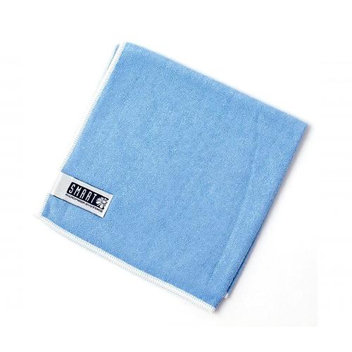Салфетка супер-люкс 40×40 голубая SMART