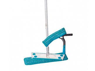 СМАРТ-набор №4: Швабра бытовая, 1 насадка влажная + платформа для мытья окон
