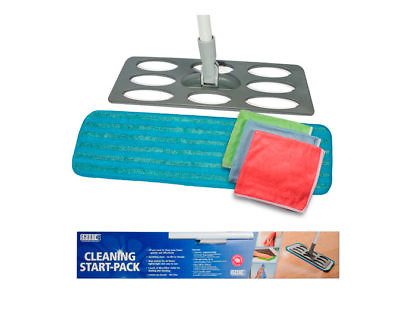 Комплект для уборки «Интерьер» (швабра+ 3 салфетки люкс)
